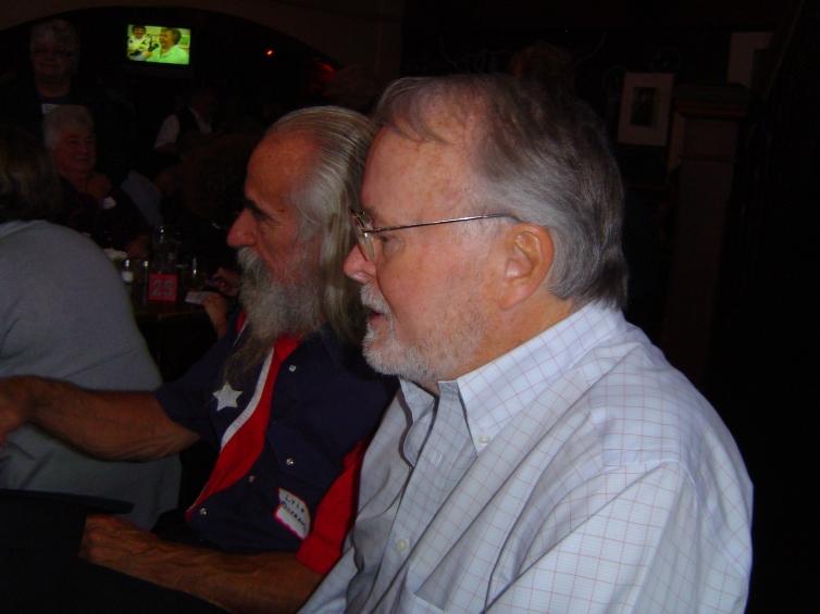 51ST REUNION, SATURDAY 17 SEPT 2011 - Ken Bates and Lyle Ostrander at ...